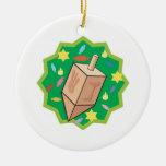 Dreidel Ornamento De Navidad