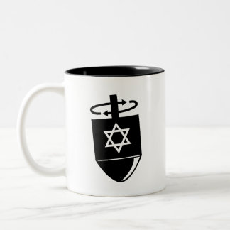 'Dreidel' Pictogram Mug