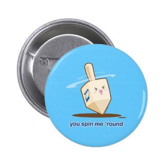 Dreidel Pinback Button