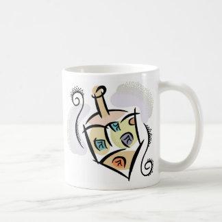 Dreidel Top Mug