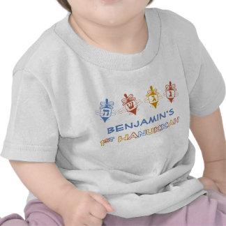 Dreidels 1r Jánuca personalizó la camiseta del