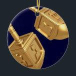 """Dreidels Ornament<br><div class=""""desc"""">Dreidels Ornament</div>"""
