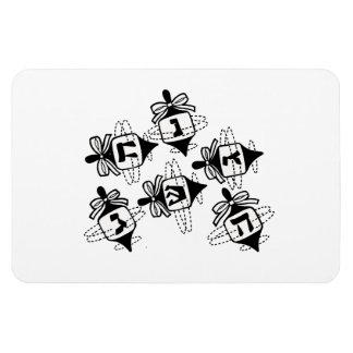 Dreidels Rectangular Photo Magnet