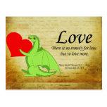 Drekans quotats - Love Post Card