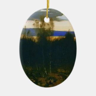 Drenaje de Isaac Levitan- Ornamento De Navidad