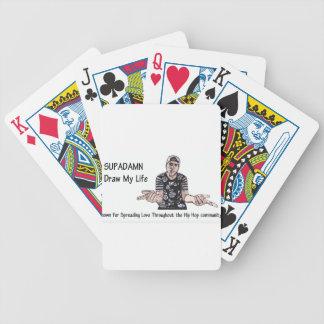 Drenaje de SUPADAMN mi vida Baraja Cartas De Poker