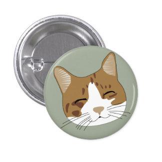 Drenaje feliz del gato pin redondo de 1 pulgada