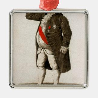 Drenaje original de Louis XVI de Francia Adorno Cuadrado Plateado