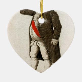 Drenaje original de Louis XVI de Francia Ornamento Para Reyes Magos