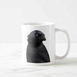 Drenched Jackdaw Coffee Mug