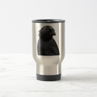 Drenched Jackdaw Travel Mug