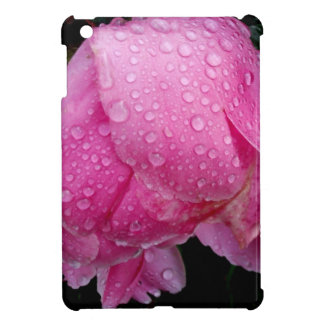 DRENCHED PEONY CASE FOR THE iPad MINI