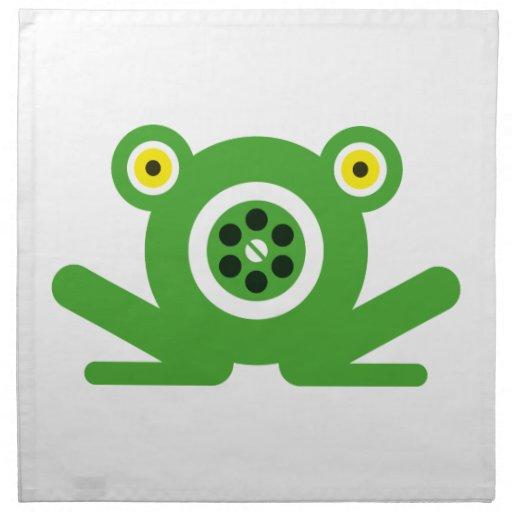 Drene Frog® Servilletas Imprimidas