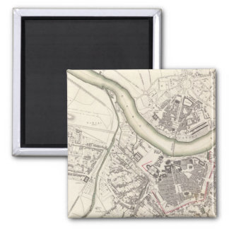 Dresden 2 Inch Square Magnet