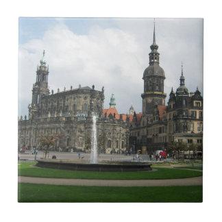 Dresden, Alemania Azulejo Cuadrado Pequeño
