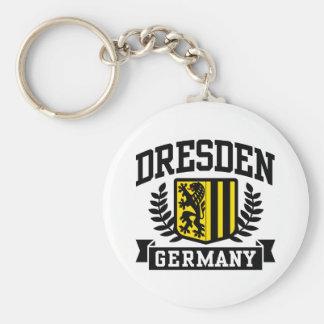 Dresden Alemania Llavero Redondo Tipo Pin