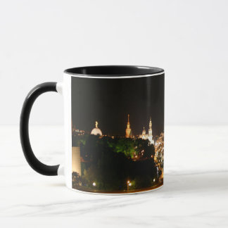 Dresden at night mug