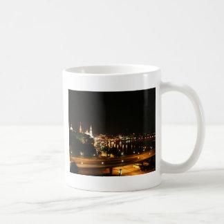 Dresden at night mugs