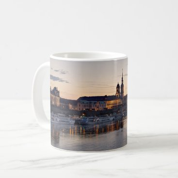 Beach Themed Dresden Elbe view Coffee Mug