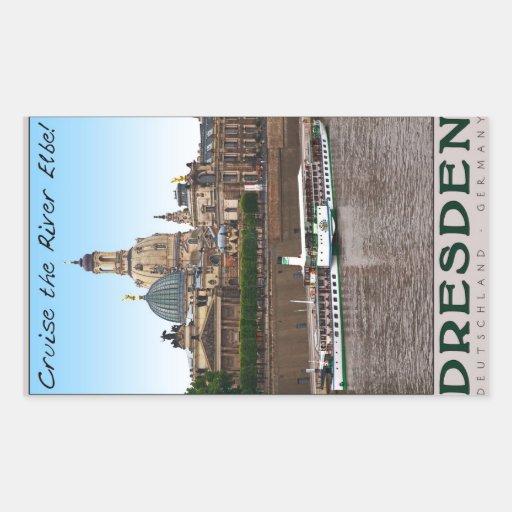 Dresden - en el Elba Etiqueta