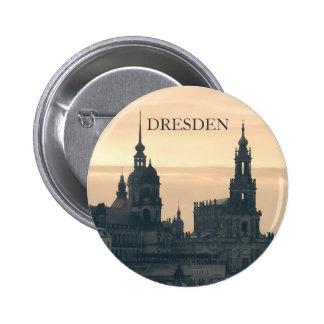 Dresden en la puesta del sol pins