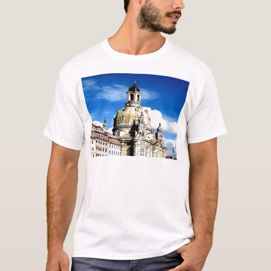 dresden frauenkirche history and city T-Shirt