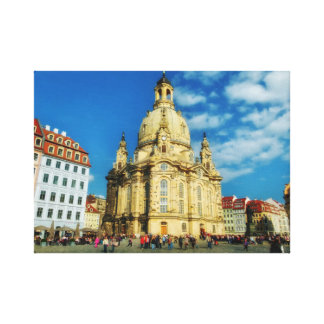 Dresden Frauenkirche Impresión En Lienzo