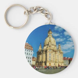 Dresden Frauenkirche Keychain