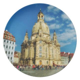 Dresden Frauenkirche Plate