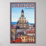 Dresden - Frauenkirche Póster