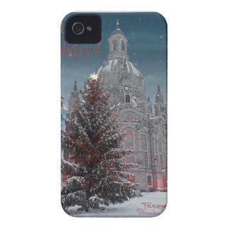 Dresden - Frauenkirche Tannenbaum - HH BW iPhone 4 Funda