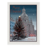 Dresden - Frauenkirche Tannenbaum - WB de la bujía Tarjetas Postales
