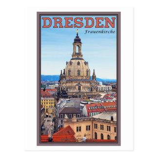 Dresden - Frauenkirche Tarjeta Postal