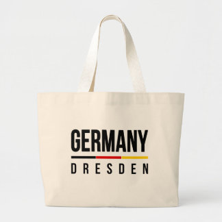 Dresden Germany Large Tote Bag