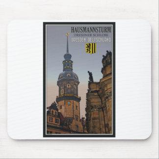 Dresden - Hausmannsturm Mouse Pad