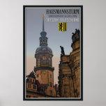 Dresden - Hausmannsturm Posters