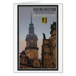 Dresden - Hausmannsturm Tarjeton