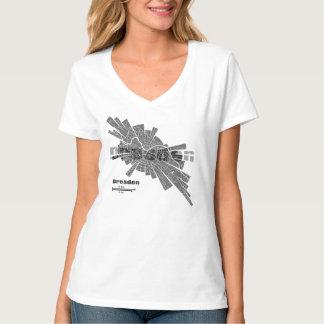Dresden Map T-Shirt for Women