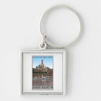 Dresden - On the Elbe Keychain