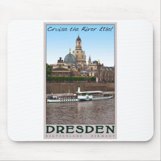 Dresden - On the Elbe Mouse Pad