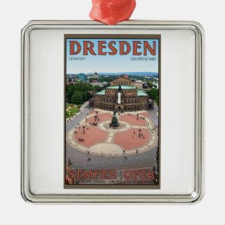 Dresden - operación de Semper Ornamento Para Reyes Magos