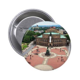 Dresden - Semper Oper Pinback Button