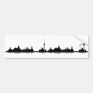 Dresden skyline stickers