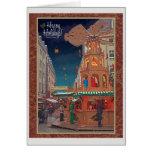 Dresden - Weihnachtspyramide HH R Tarjeta Pequeña