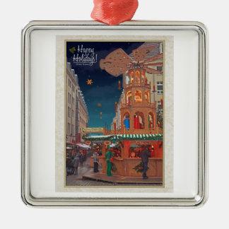 Dresden - Weihnachtspyramide - HH W Ornamento De Reyes Magos