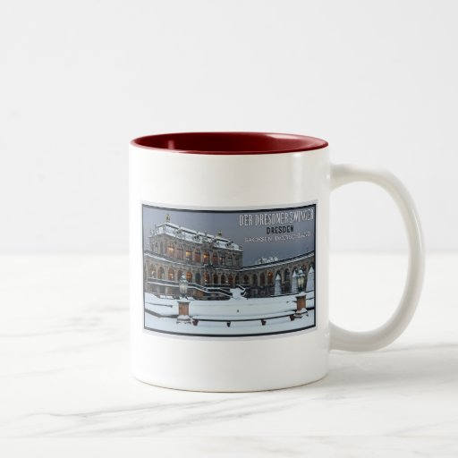 Dresden - Zwinger Palace Winter LS Coffee Mug