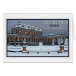 Dresden - Zwinger Palace Winter LS Greeting Card