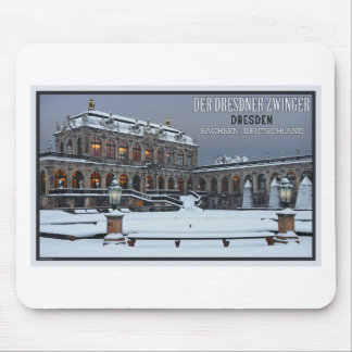 Dresden - Zwinger Palace Winter LS Mouse Pad