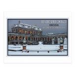 Dresden - Zwinger Palace Winter LS Postcards
