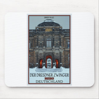 Dresden - Zwinger Palace Winter P Mouse Pad